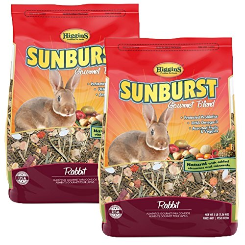 (Higgins Sunburst Gourmet Food Mix for Rabbits Net WT 6LB)