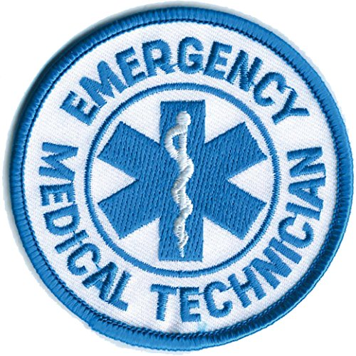 Official EMT Patch Emergency Medical Technician Public Safety 3
