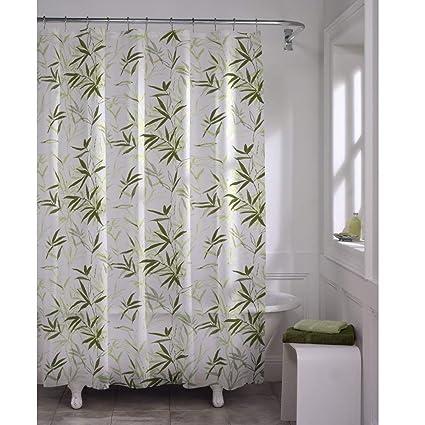 Amazon MAYTEX Zen Garden Waterproof PEVA Shower Curtain Home