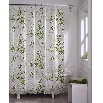 Amazon MAYTEX Zen Garden Waterproof PEVA Shower Curtain Home Kitchen
