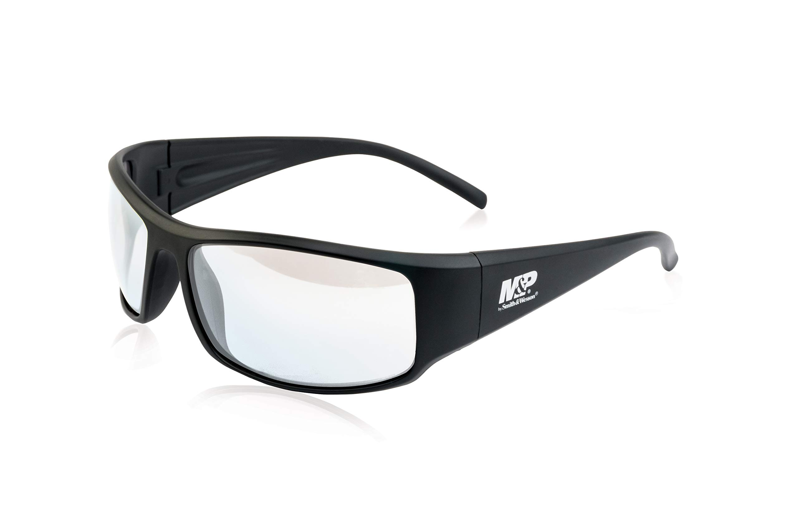 Smith & Wesson M&P Thunderbolt Full Frame Shooting Glasses with Impact Resistance and Anti-Fog Lenses for Shooting, Working and Everyday Use by SMITH & WESSON