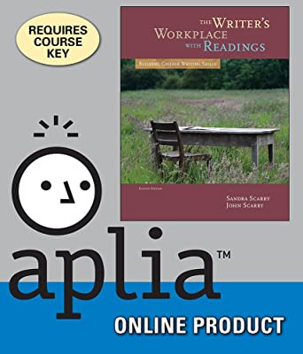 Amazon aplia for scarryscarrys the writers workplace with aplia for scarryscarrys the writers workplace with readings building college writing skills fandeluxe