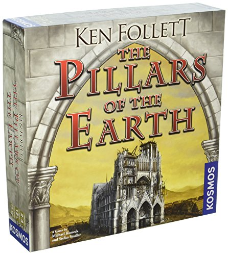 Earth Board (Thames and Kosmos Kingsbridge the Pillars of the Earth: the Game)