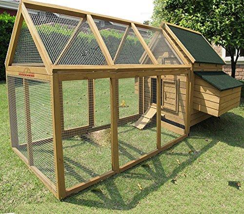 Pets Imperial® - Hühnerstall Marlborough - für 6 bis 8 Hühner Je nach Größe - leicht zu reinigen