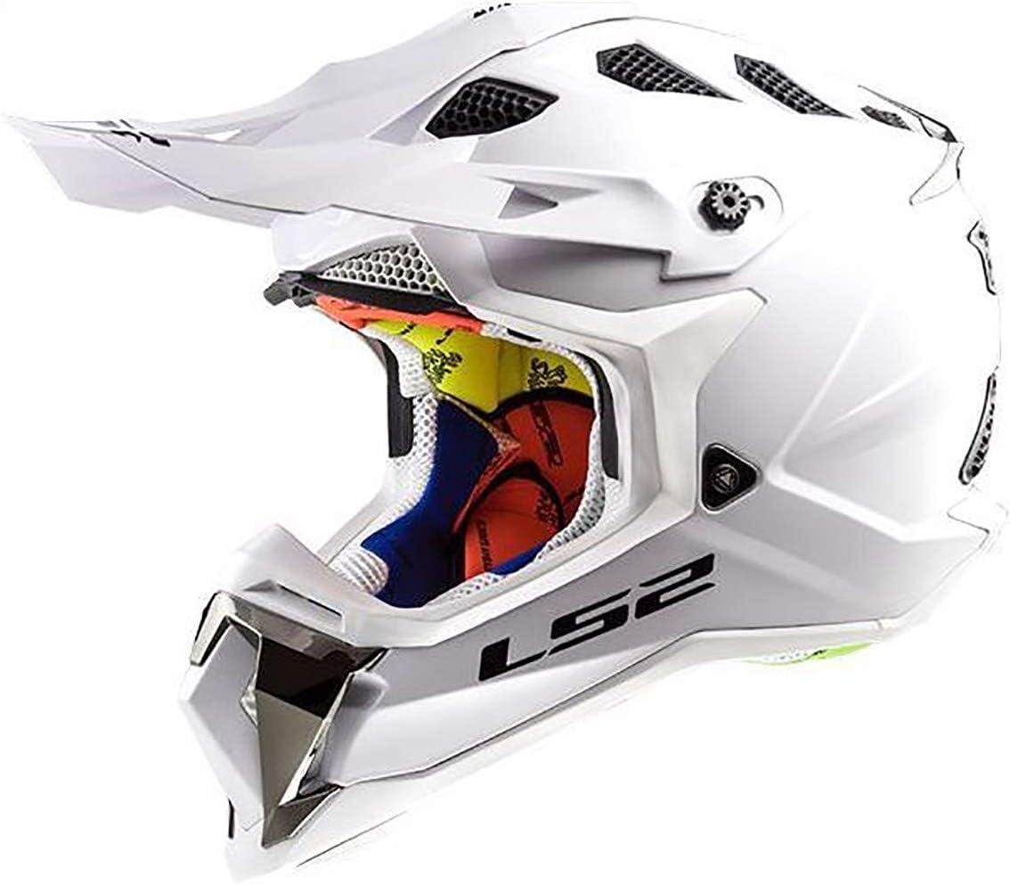 LS2 Helmets MX-Off Road Subverter Helmet (Gloss White - Large)