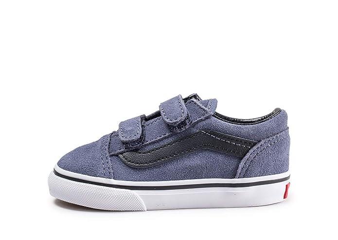 Vans Old Skool Sneakers Unisex Blau/Grau Schwarz