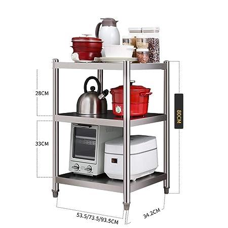 Estante del gabinete de cocina, horno de microondas soporte ...