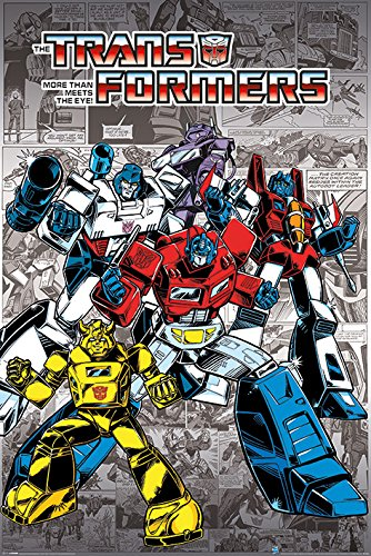Transformers G1 - Retro Comic Poster / Print