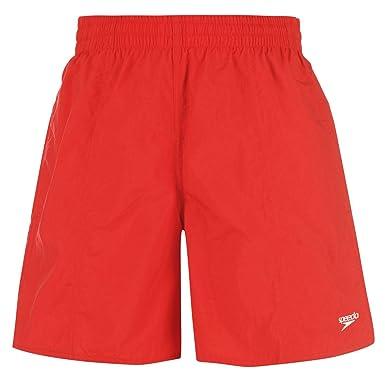 49b2a2e1b22 Speedo Leisure Shorts Mens Red Extra Lge [Misc.]: Amazon.co.uk: Clothing