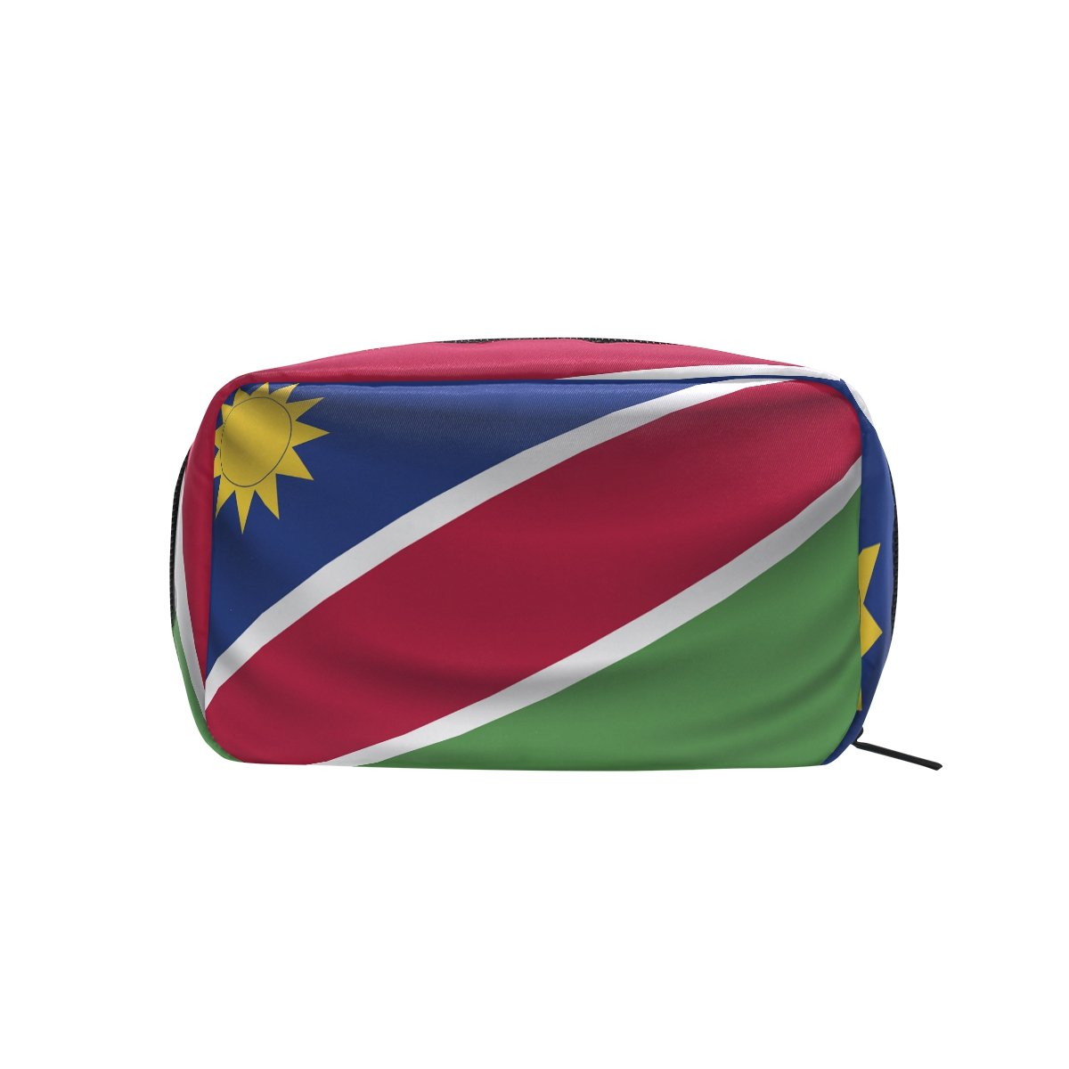 Namibia Flag Makeup Bag Multi Compartment Pouch Storage Cosmetic Bags