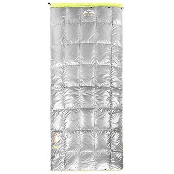 LIUDADA Saco de Dormir - Saco de Dormir de Pluma Adulto Que acampa en casa Saco de Dormir (Color : Gray): Amazon.es: Deportes y aire libre