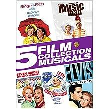 Singin' in the Rain / The Music Man / Seven Brides For Seven Brothers / Yankee Doodle Dandy / Elvis-Viva Las Vegas
