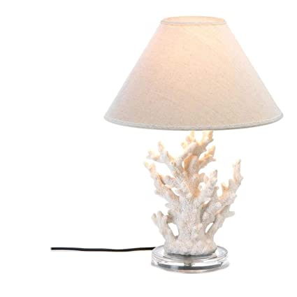 Amazon nautical themed coral mood desk lamp shade craftsman nautical themed coral mood desk lamp shade craftsman table lighting contemporary replacement modern northern lights living aloadofball Image collections