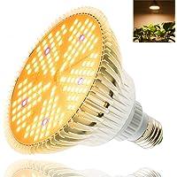 LED Groeilamp 100W kweeklamp,E27 Volledig spectrum Plantenlicht,Plantenlamp voor Kamerplanten,150 LEDs Kamerplanten…
