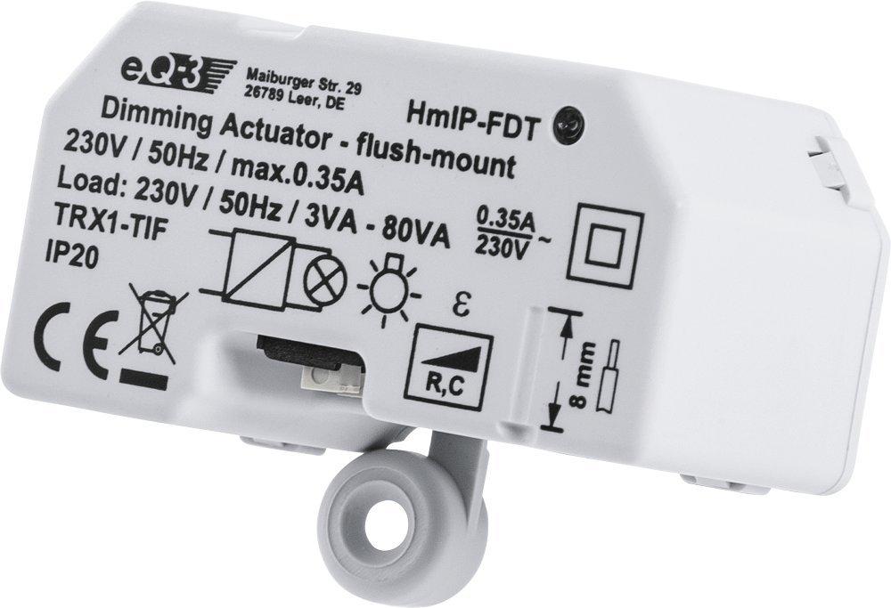 Transmisor, Color Blanco, 180 m, IP20, 0,2 W, 50 Hz Accesorios de persiana//contraventana Homematic IP HmIP-FBL Transmisor Color Blanco Accesorio de persiana//contraventana
