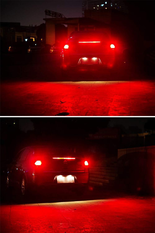 4-Pack 921 912 T10 T15 Ambre Jaune 800 lumens 12V-18V Extr/êmement Lumineux Non-Polarit/é Canbus Sans Erreur AK-4014 45 pcs Chipsets LED Ampoules Pour Marqueur Lat/éral Lumi/ère Ampoule de Frein