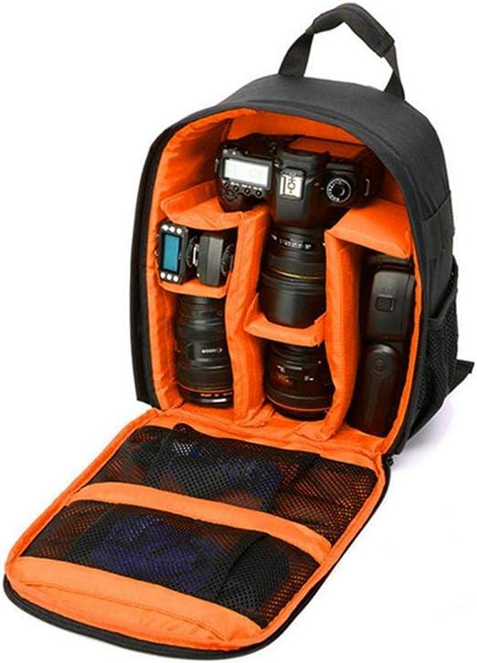 Volwco - Mochila para cámara réflex Digital (Resistente al Agua ...