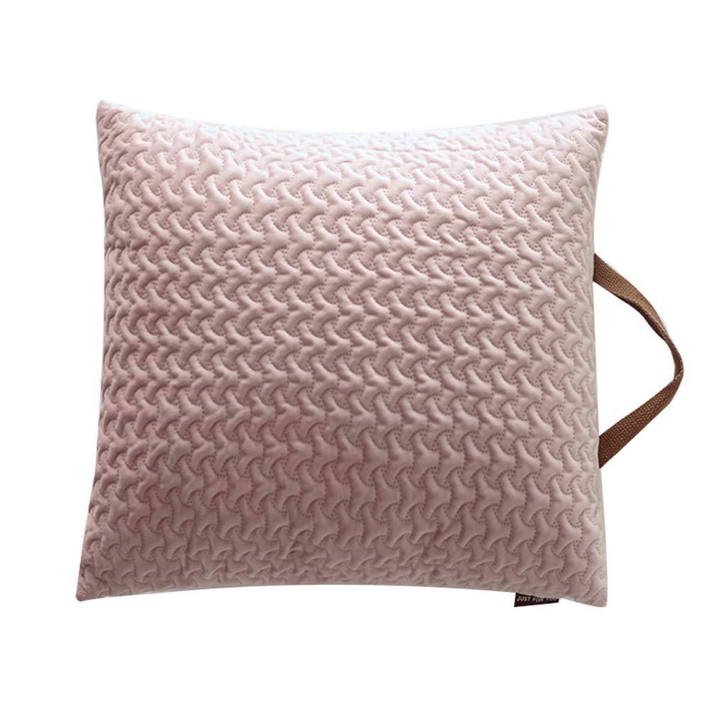 Mao ZE QU Household Dutch Velvet Three-Dimensional Embossed Pillow Pillowcase Pillow Sofa Cushion car Pillow Pillow Lumbar Detachable by Sofa pillow