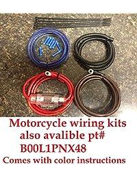 Harley Davidson Amplificador Soportes de montaje Fit Batwing Bikes con Stock Radio para Rockford pbr 300 X 2 & pbr 300 X 4 amperios