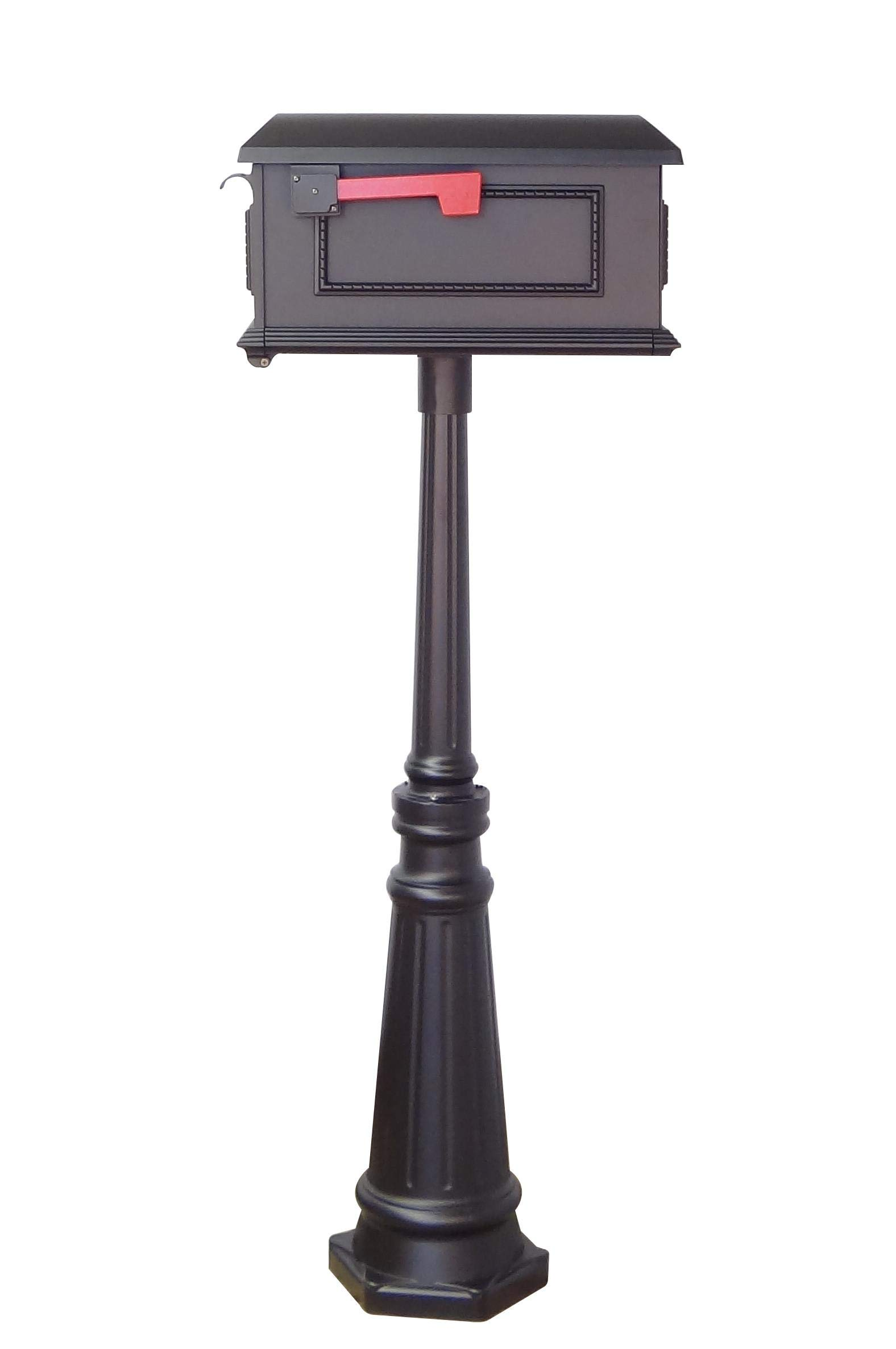 Special Lite Traditional Curbside Mailbox with Tacoma Mailbox Post Unit by Special Lite