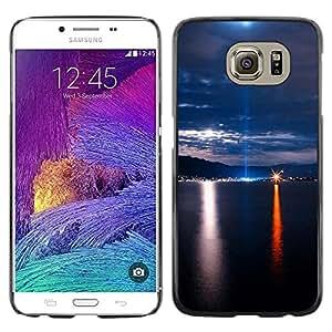 Smartphone Rígido Protección única Imagen Carcasa Funda Tapa Skin Case Para Samsung Galaxy S6 SM-G920 Nature Beautiful Forrest Green 121 / STRONG