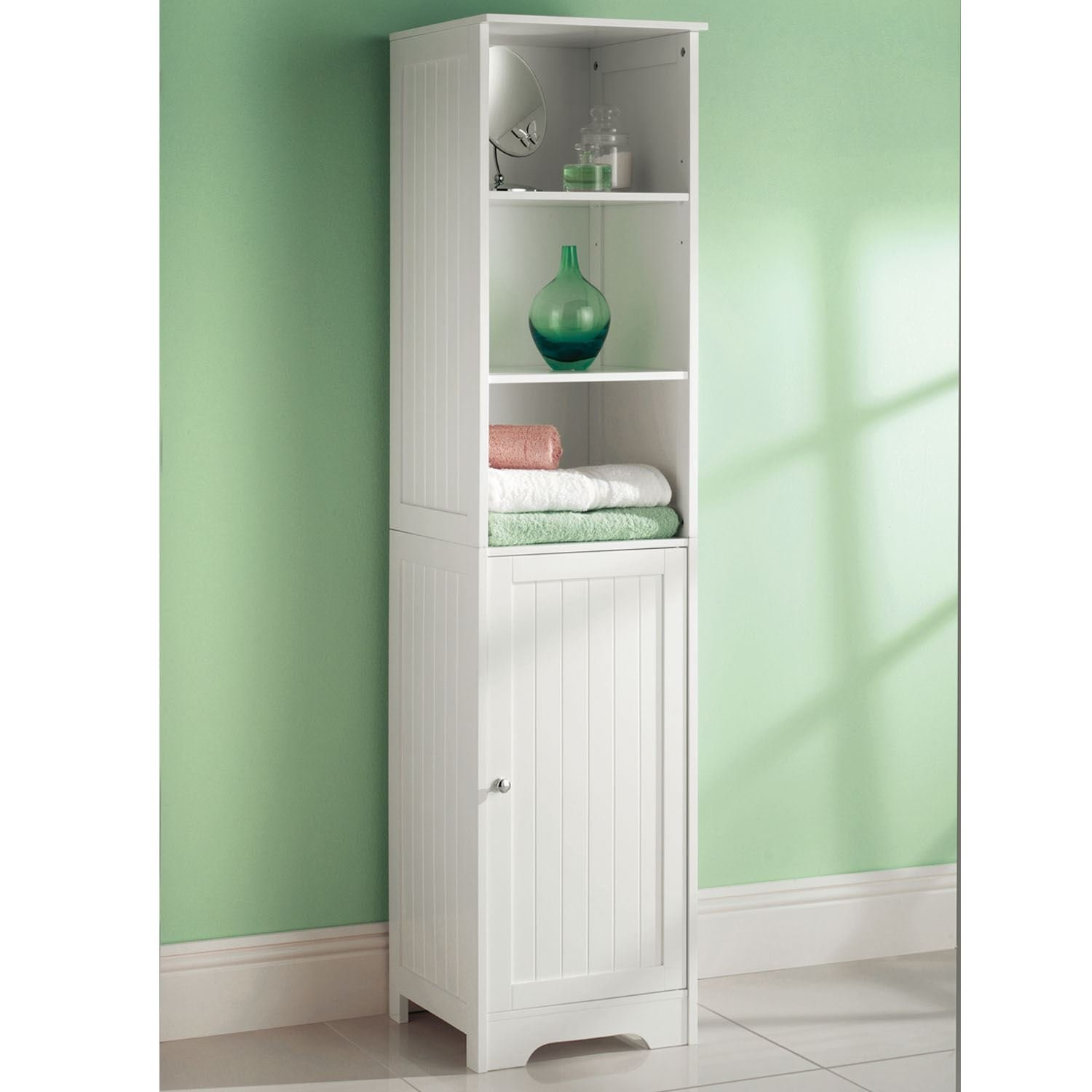 uk bathroom mirrored pin argos hygena gloss buy tall co cabinet furniture storage grey at