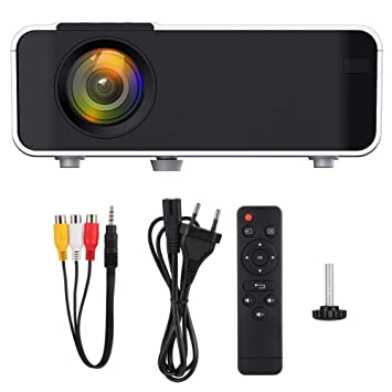 Proyector LED WiFi, portátil Ultra HD LED 4K Beamer Bluetooth ...
