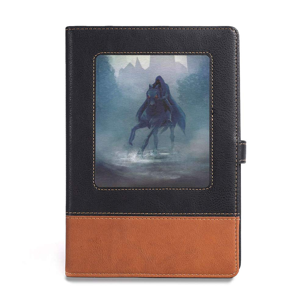 Thick Notebook,Fantasy World,A5 ,Suitable for choosing artists,General Leading His Army in War Medieval Armored, 6.1 x 8.6