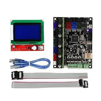 domoment kit de impresora 3d MKS Gen V1.0 L tarjeta de control ...