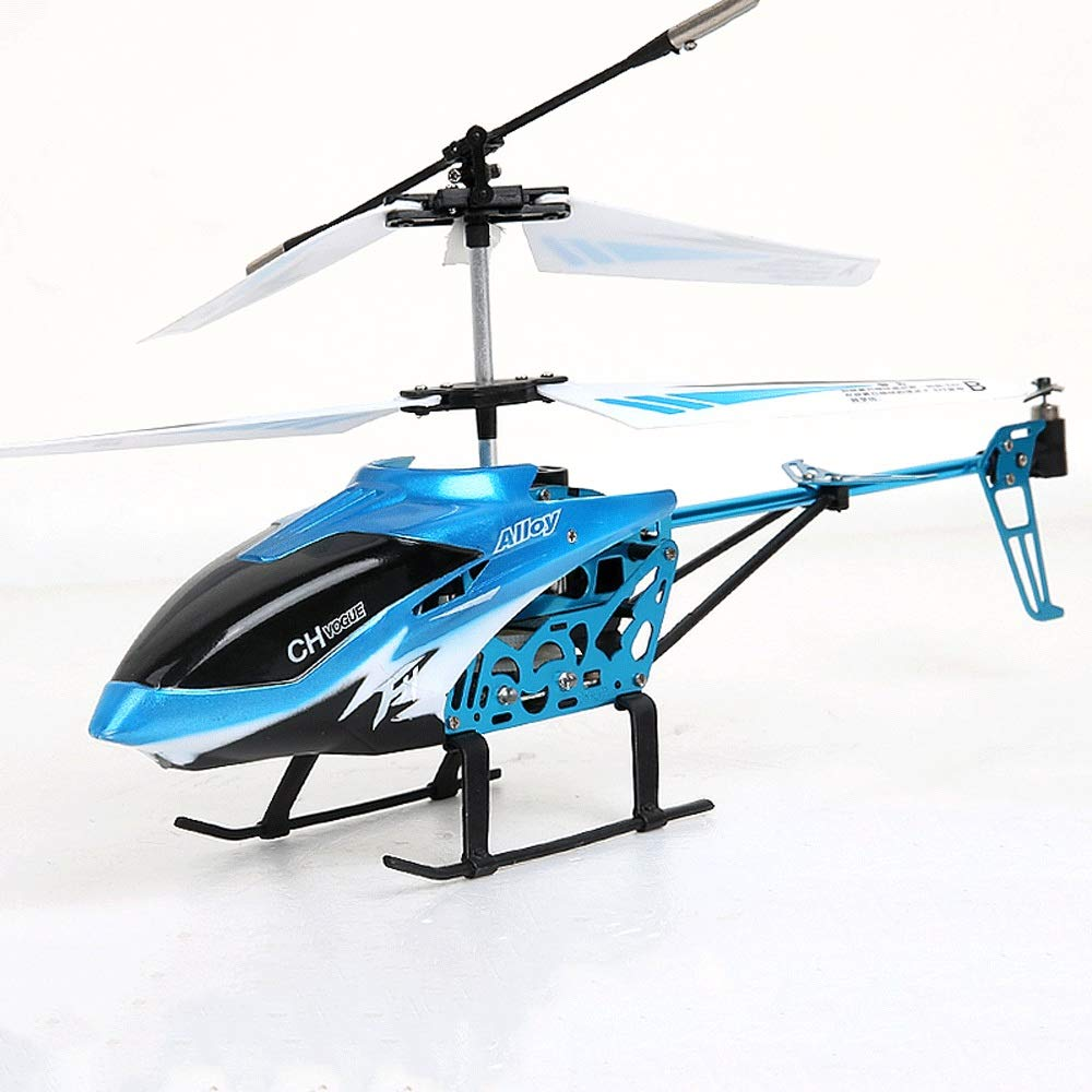 Zenghh Remote Control Helicopter Long-distance Aircraft Toy Multiplayer Game Machine Alloy Rack Boy Children New Charging And LED Lights Outdoor Anti-collision Shake Air Model Oversized Preferred Gift