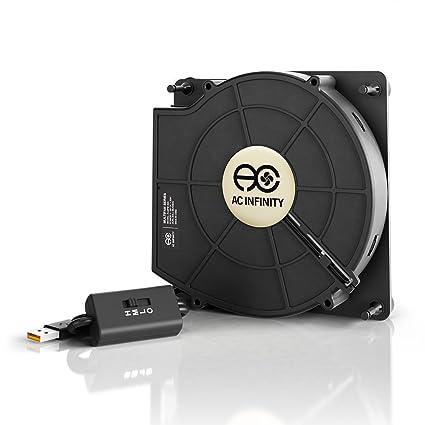 amazon com ac infinity multifan s2, quiet 120mm usb blower fan withMultifan Wiring Diagram #17