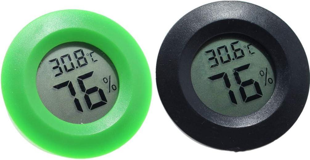 und Feuchtigkeitsmessger/ät LCD Display Level Great Mini Practical Digital-Hallenrunde Thermometer Hygrometer Temperatur