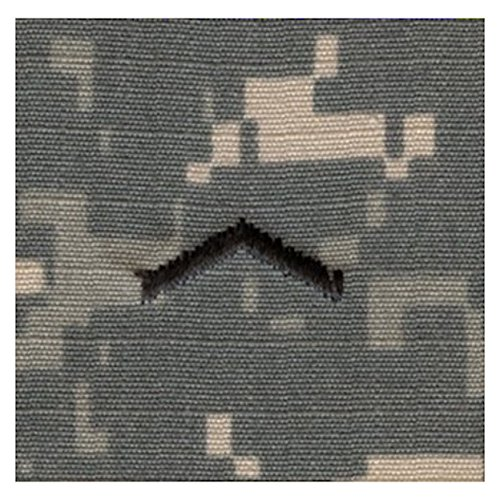 Army ROTC Rank SEW-ON for Patrol Cap - ACU DIGITAL (Cadet - Private)