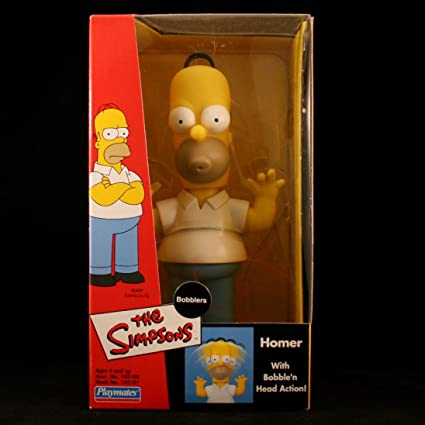Amazon Com Simpsons Homer Bobblers The Bobble Head Figure From