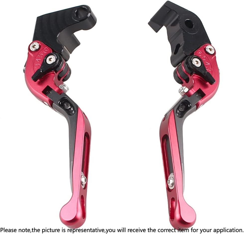 Adjustable Folding Extendable Brake Clutch Levers For Yamaha YZF R1 09-2014