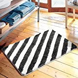 American simplicity stripe floor mats door mats door mats carpets bedroom/kitchen/toilet water-absorbing mat -4565cm c