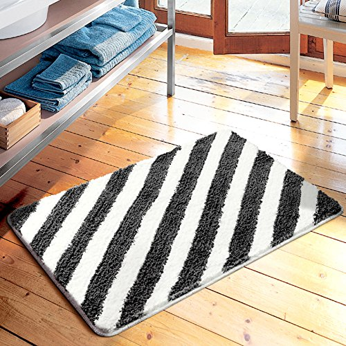 American simplicity stripe floor mats door mats door mats carpets bedroom/kitchen/toilet water-absorbing mat -4565cm c by ZYZX