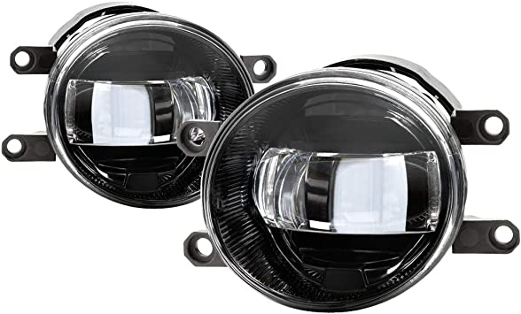 Fit 14-18 Tundra 16-18 Tacoma Rav4 14-16 Corolla Cree LED Replacement Fog Lights