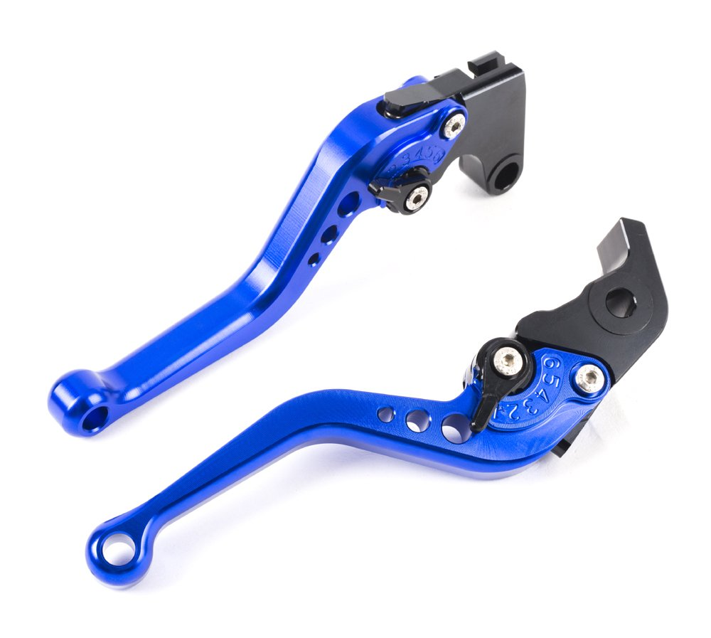 R104//Y688 Short Brake Clutch Levers CNC Adjustable Aluminum for YAMAHA YZF R1 04-08 YZF R6 05-14 R6S CANADA VERSION 06 R6S EUROPE VERSION 06-07 SPL072