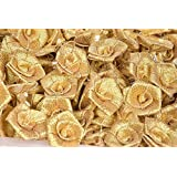 Daedal Crafters- DC238 Gold Roses (Pack of 50 pcs)