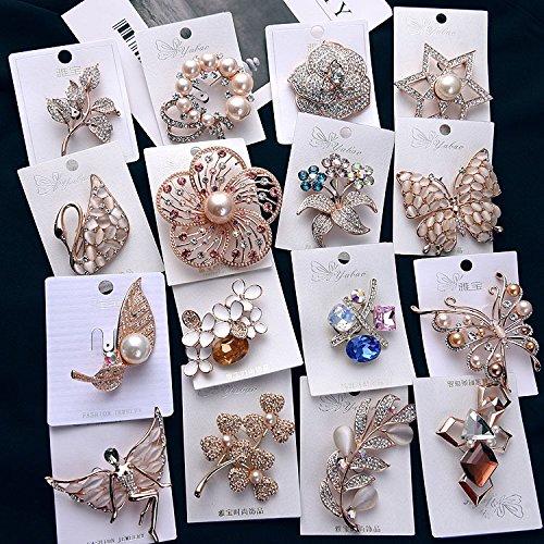 Plating color retention fashion swan brooch inlaid diamond opal brooch temperament fashion accessories women girls female Dongkuan gold