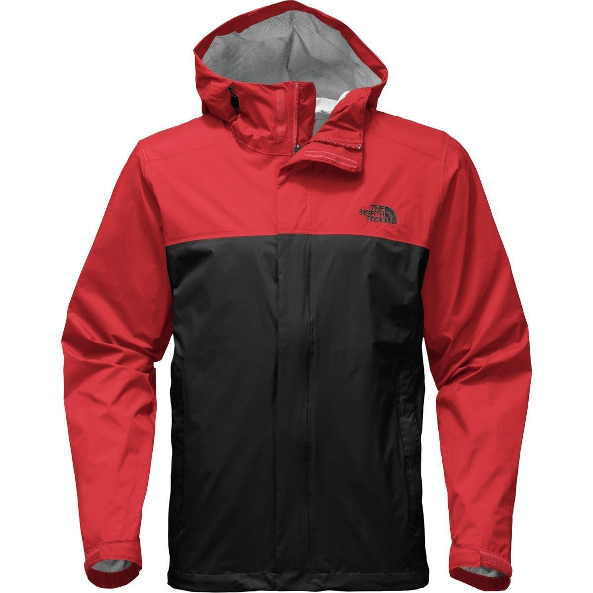 (ザノースフェイス) The North Face Resolve 2 ジャケット メンズ B01N1JQU2R 4L|Tnf Black/Centennial Red Tnf Black/Centennial Red 4L