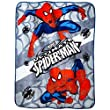 Marvel Spiderman Micro Plush Fleece Throw Blanket