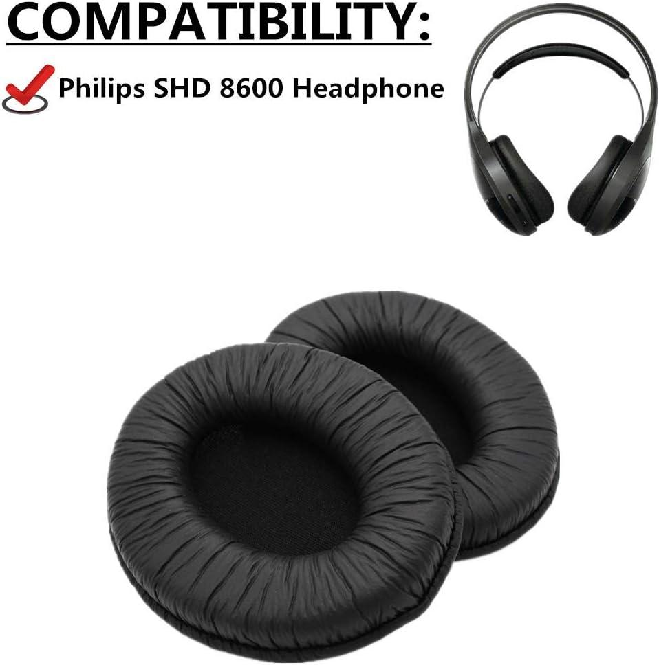 1 par de almohadillas de repuesto para auriculares Philips SHD 8600 shd 8600 auriculares inalámbricos