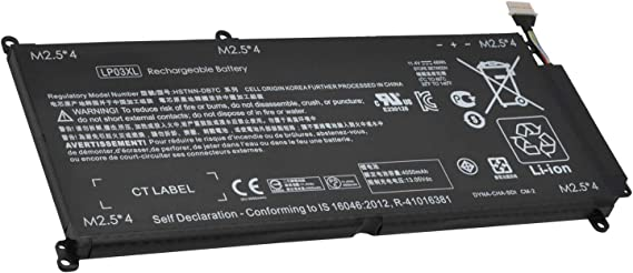 CQCQ LP03XL Compatible Battery Replacement for Hp Envy 14-J 15T-AE 15-AE000 M6-P Series LP03048XL HSTNN-DB6X HSTNN-DB7C HSTNN-UB6R [11.4V 48Wh]