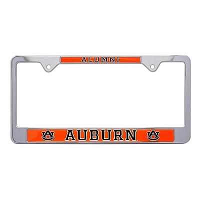 AMG Auto Emblems All Metal NCAA Alumni License Plate Frame … (Auburn): Automotive