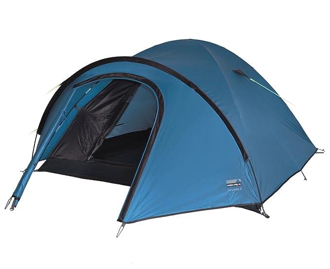 12 opinioni per High Peak Nevada 3 Tenda, Unisex – Adulto, Blu/Marrone Scuro, 290 x 215 x 120 cm