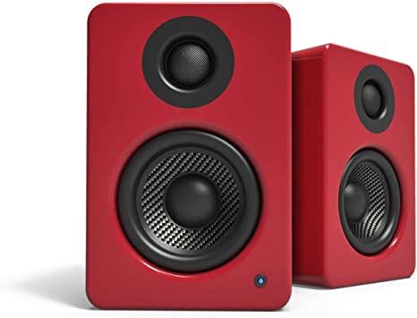 Gloss Red Kanto YU2 Powered Desktop Speakers