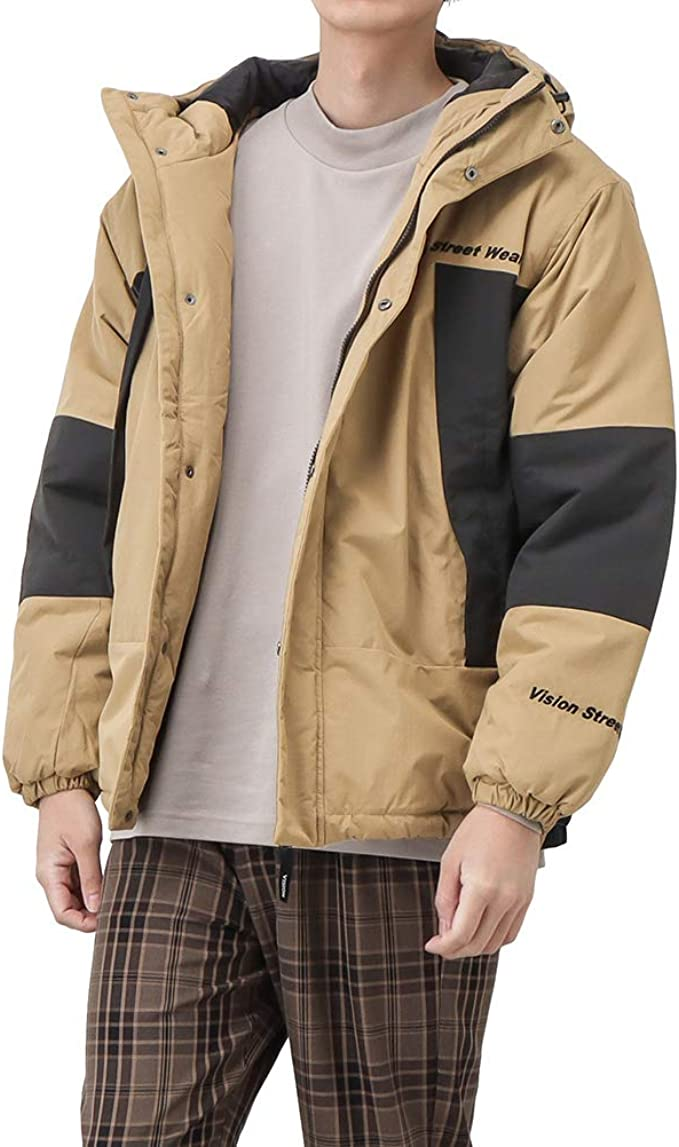 中綿ジャケット ジャケット アウター メンズ VISION STREET WEAR ヴィジョンストリートウェア 機能中綿フードジャケット 中綿 フードジャケット 0905001