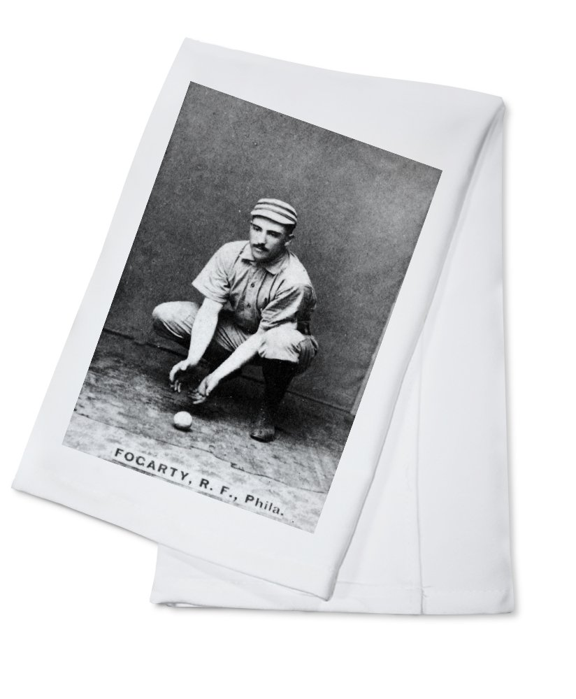 Philadelphia Quakers – ジムフォガティ – 野球カード Cotton Towel LANT-22942-TL Cotton Towel  B0184BUE4I